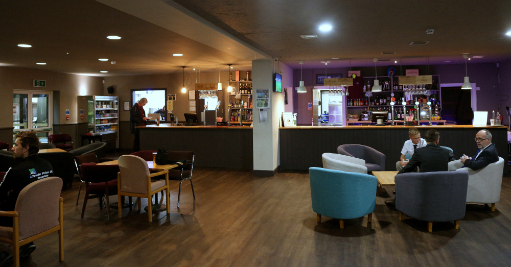 Long View of Bar